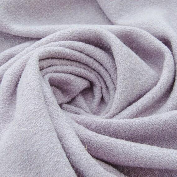 Пальтовая ткань лилового цвета